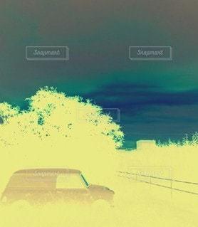 車のクローズアップの写真・画像素材[3435619]