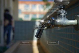 金属物のクローズアップの写真・画像素材[3435932]