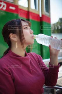 水分補給の写真・画像素材[3469494]