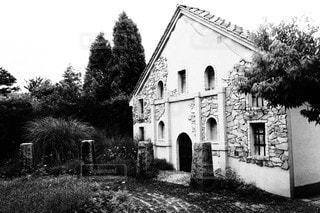 レトロな家の写真・画像素材[3475167]