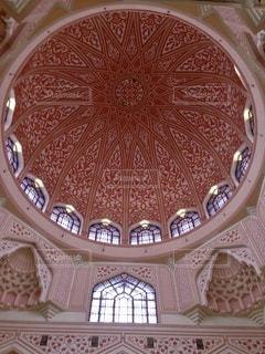 ピンクモスクの内観の写真・画像素材[3538346]