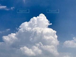 青空の雲の写真・画像素材[3584901]