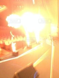 裏方大爆発の写真・画像素材[3439628]