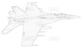 アメリカ海軍 F-18E スーパーホーネット 第115戦闘飛行隊の写真・画像素材[3731419]