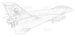 アメリカ海軍 F-14A トムキャット 第84戦闘飛行隊 可変後退翼の写真・画像素材[3736871]