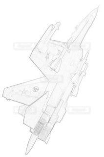 ソビエト連邦空軍 Su-27P フランカーの写真・画像素材[3744207]