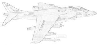 アメリカ海兵隊 AV-8B ハリアーⅡの写真・画像素材[3759133]