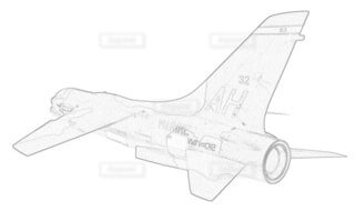 アメリカ海兵隊 F-8E クルセイダーの写真・画像素材[3762073]