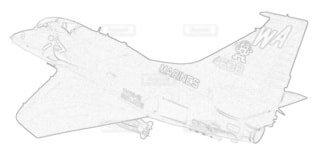 アメリカ海兵隊 OA-4M スカイホークの写真・画像素材[3768409]