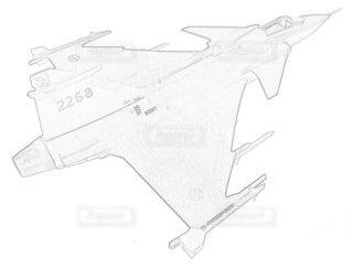 スウェーデン空軍 JAS39 グリペン F7スカラボーグ航空団の写真・画像素材[3780447]