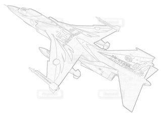 航空自衛隊 F-1 第6飛行隊 航空自衛隊50周年記念の写真・画像素材[3786853]
