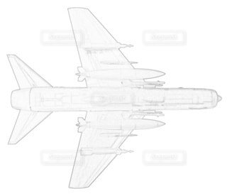 アメリカ海軍 A-7E コルセアⅡ 第37攻撃飛行隊の写真・画像素材[3788931]