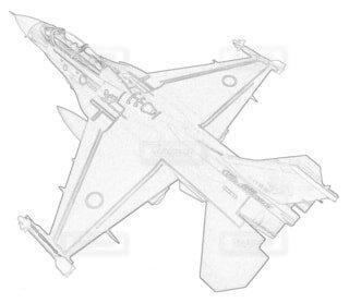 航空自衛隊 F-2B 第4航空団 第21航空隊の写真・画像素材[3797705]