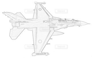 航空自衛隊 F-2B 第4航空団 第21航空隊の写真・画像素材[3797709]