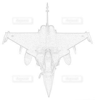 フランス空軍 ラファールCの写真・画像素材[3864581]
