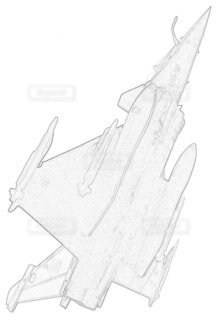 フランス空軍 ラファールCの写真・画像素材[3864584]