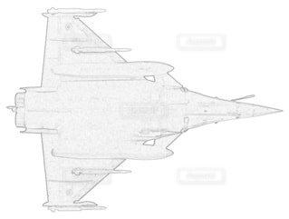フランス空軍 ラファールCの写真・画像素材[3864588]