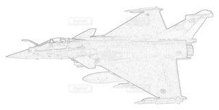フランス空軍 ラファールCの写真・画像素材[3864589]