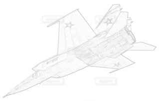 ロシア空軍 MiG-25RB フォックスバットBの写真・画像素材[3932568]