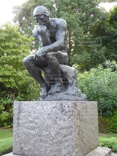 木の像の写真・画像素材[3449702]
