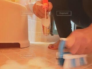 風呂掃除の写真・画像素材[4777663]