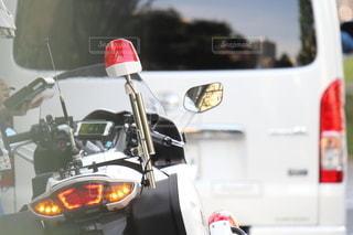白バイ 取り締まり FJR 1300の写真・画像素材[3460940]