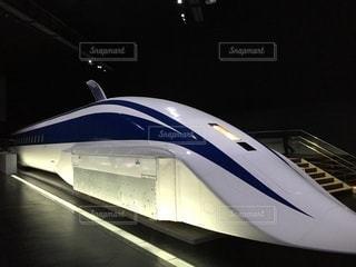 リニア新幹線のクローズアップの写真・画像素材[3465858]