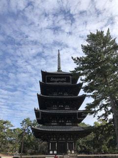 興福寺の五重塔の写真・画像素材[3461015]
