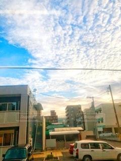 朝の空の写真・画像素材[3547129]