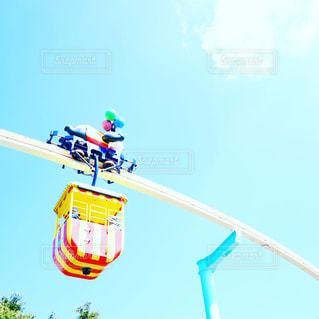 遊園地の乗り物の写真・画像素材[842791]