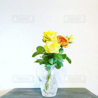 バラを飾るの写真・画像素材[874357]