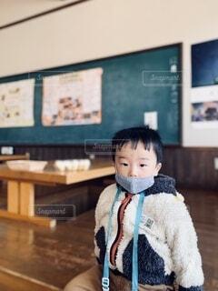 レトロな教室跡の写真・画像素材[3887619]