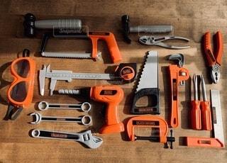 おもちゃの工具の写真・画像素材[4186427]