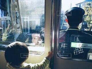 江ノ電の先頭車両の写真・画像素材[4216160]