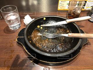 いきなりステーキ完食の写真・画像素材[3461739]
