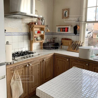 キッチンの写真・画像素材[3501107]
