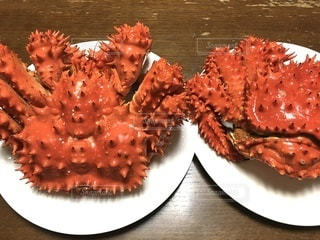 いただき物の花咲蟹の写真・画像素材[3612470]