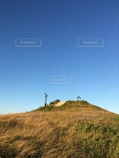 避難の丘の写真・画像素材[3465074]
