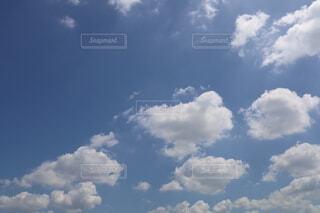 青空の雲の写真・画像素材[3628832]