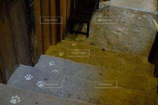 木製の床のある部屋の写真・画像素材[3588802]