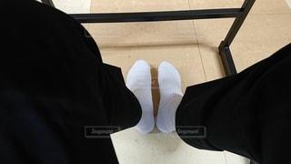登校日上靴忘れの写真・画像素材[3537058]