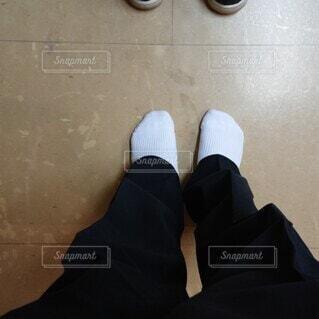 上靴忘れの写真・画像素材[4076811]