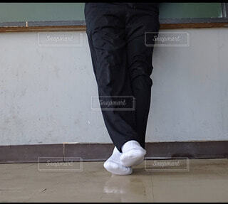 上靴忘れの写真・画像素材[4191712]