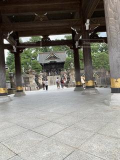 お寺の入り口の写真・画像素材[3507058]