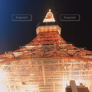 ライトアップ東京タワーの写真・画像素材[2709461]
