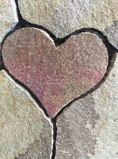ハート石の写真・画像素材[3508085]