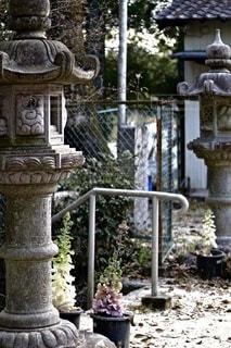 神社の入り口の写真・画像素材[3485984]