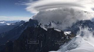 フランスモンブラン フレンチアルプスの写真・画像素材[3657961]