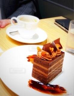 チョコレートケーキの写真・画像素材[3610466]