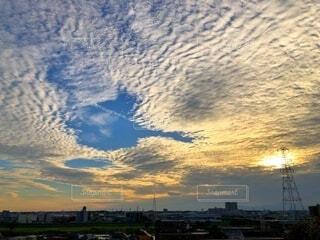 今日の空模様の写真・画像素材[3786868]